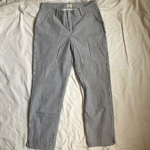 A New Day Ankle Pants - Seersucker